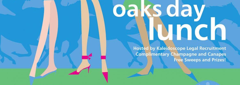 oaks day poster